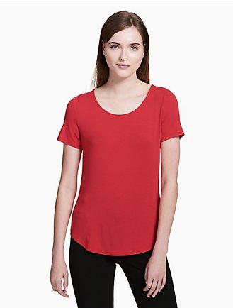 Women's Shirts & Tank Tops on Sale | Calvin Klein