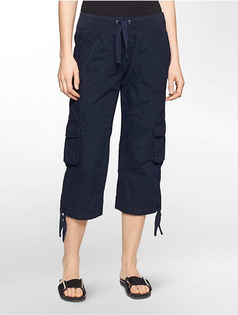 Luxury Jonno Khaki Tan Cropped Cargo Pants  Zulily
