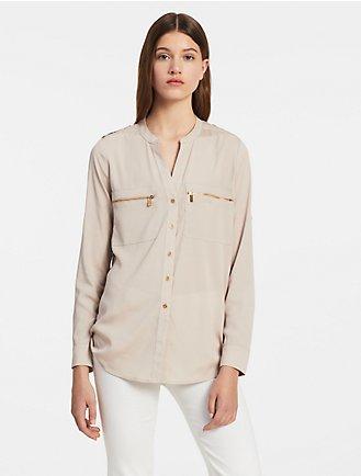Women's Tops & Blouses | Calvin Klein
