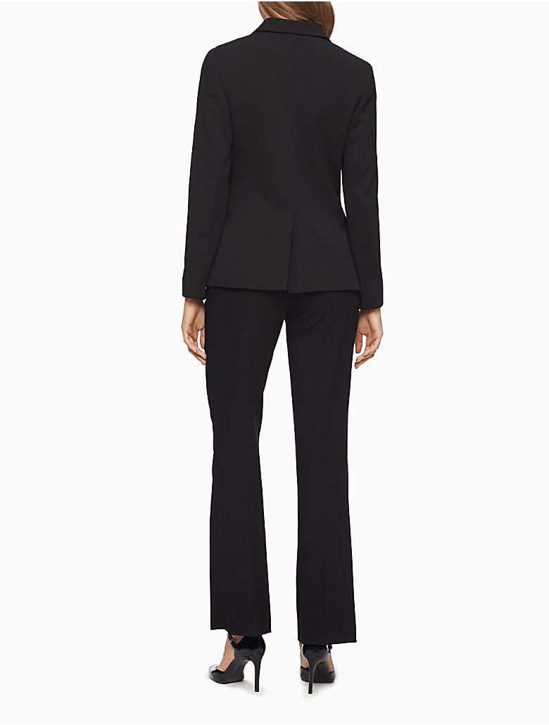 Perfect Calvin Klein Women39s Petite Black Pant Suit  Free Shipping Today
