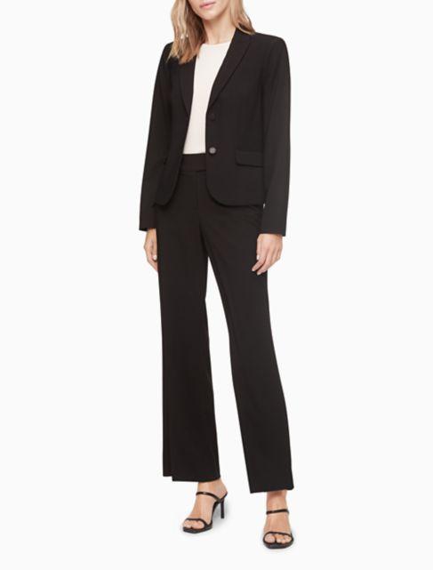 two button black suit jacket | Calvin Klein