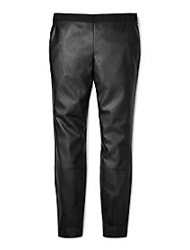 faux leather leggings $39.99