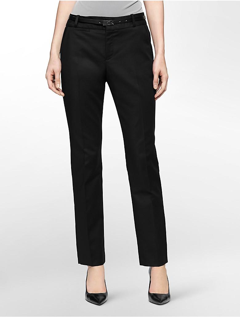 Fantastic Womens Pants  Suitable Womens Pants  Calvin Klein Two Tone Fashion