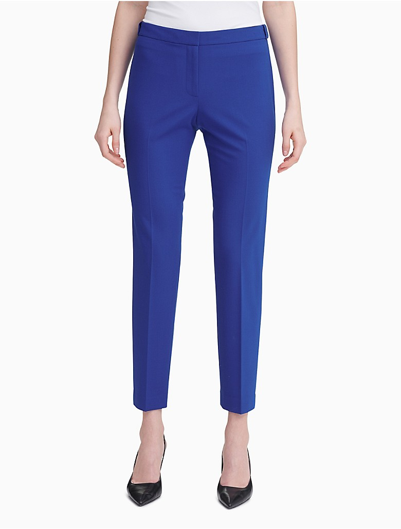 Original Calvin Klein Women39s Singlebutton Pant Suit  12651810  Overstock