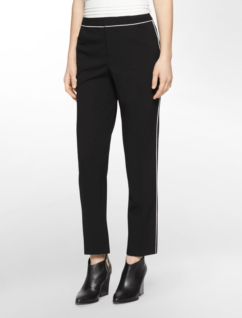 Cool Womens Tuxedo Pants Pleated With Pockets  Perfect Tux