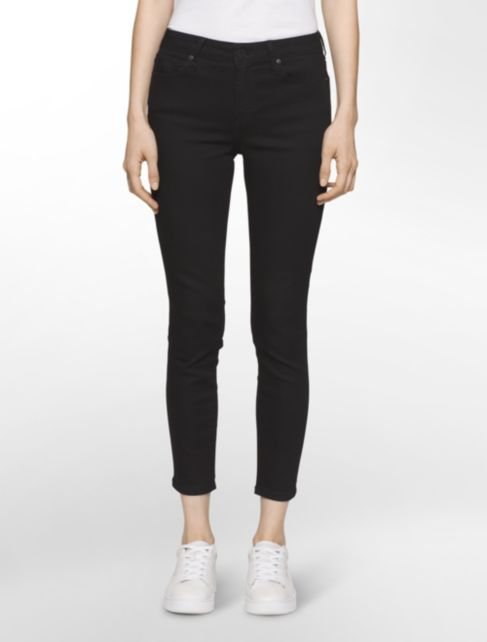 ultimate skinny new black ankle jeans | Calvin Klein