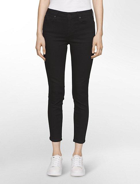 ultimate skinny new black ankle jeans   Calvin Klein