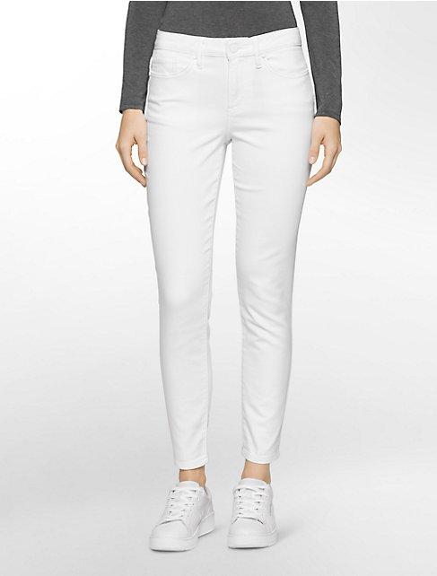 White Ankle Jeans - Xtellar Jeans