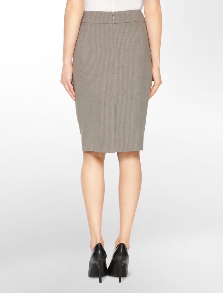 Pencil Skirt Suit calvin klein womens pi...