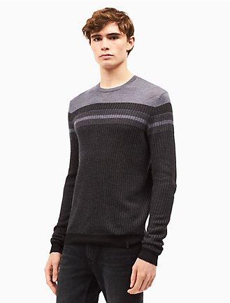 Men's Sweatshirts & Sweaters on Sale | Calvin Klein