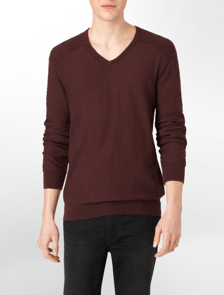 Shop for LIGHT GRAY L Slim Fit V-Neck Sweater in Textured Knit online at $ and discover fashion at membhobbdownload-zy.gand: Rosegal.