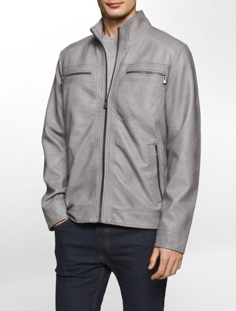 Light Grey Pea Coat Mens - Tradingbasis