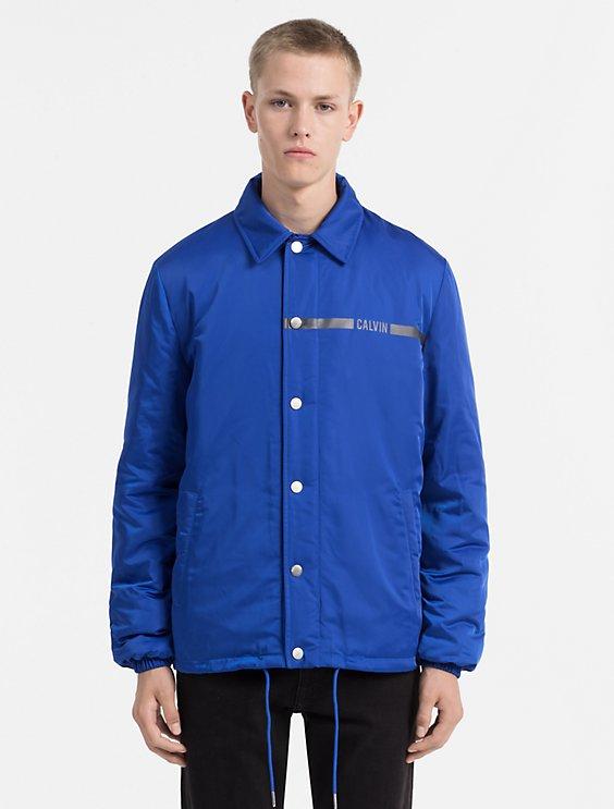 shoptagr padded shell jacket by calvin klein