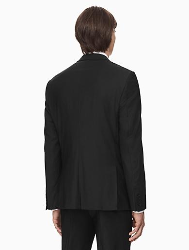 x fit ultra slim fit black suit | Calvin Klein