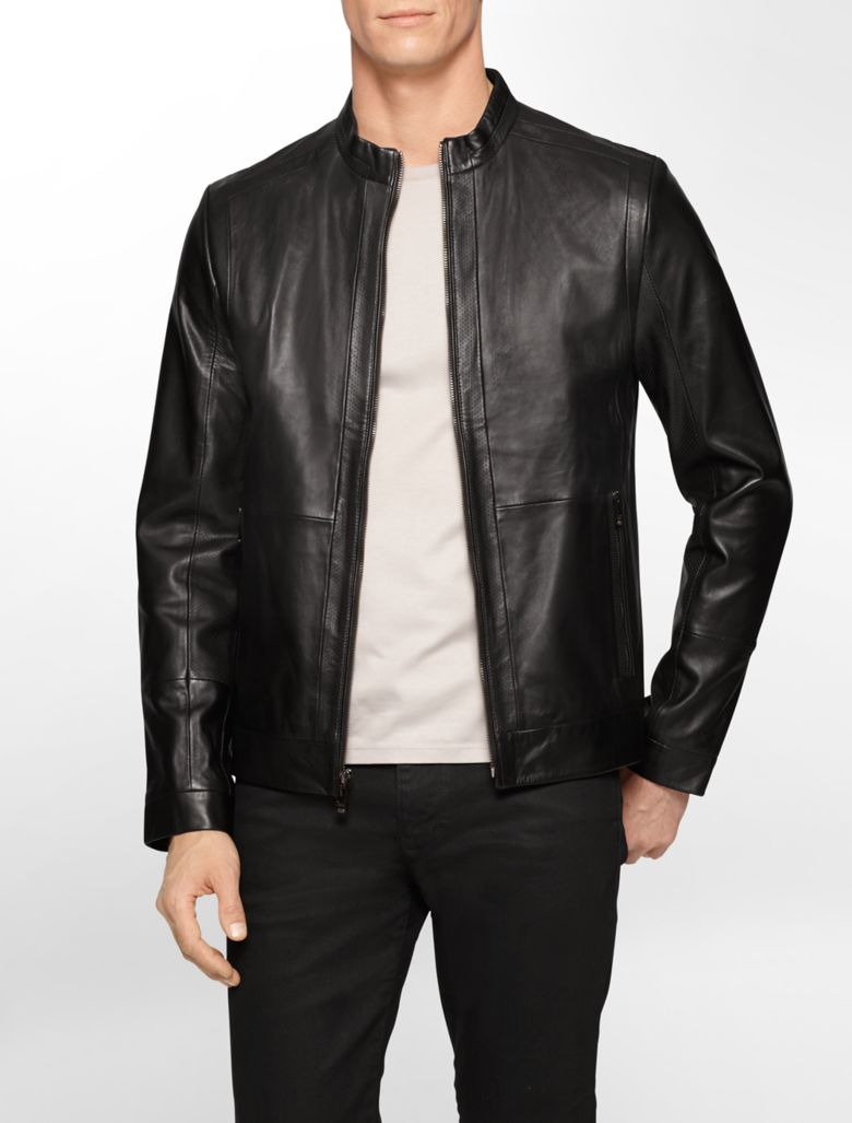 Shop our range of mens designer real leather jackets. Our stylish fashion range is made up of the best cool & trendy designs. View our full range now online or pop into your local REISS store.