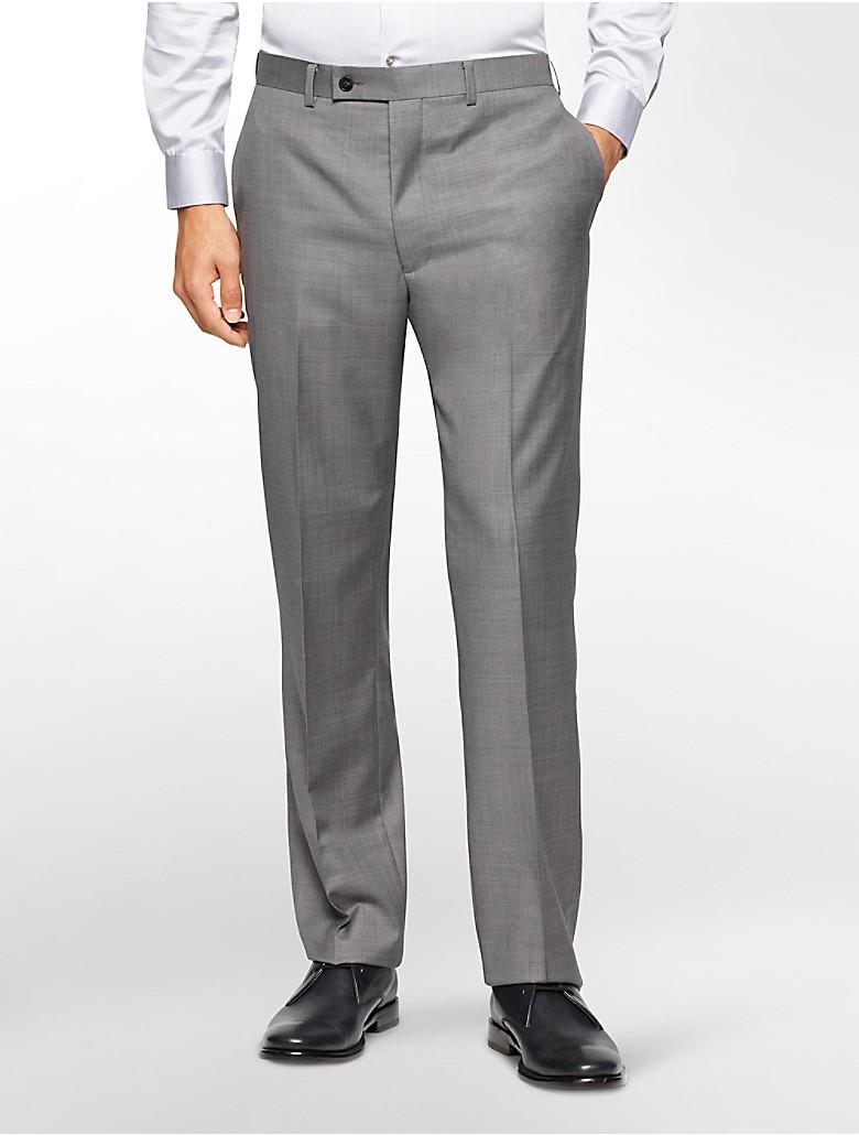 Shop Klein BODY Slim-Fit Sharkskin Dress Pants online at autoebookj1.ga
