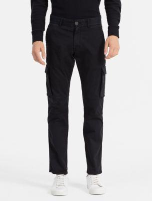 Slim Black Cargo Pants 8mDgXCP0