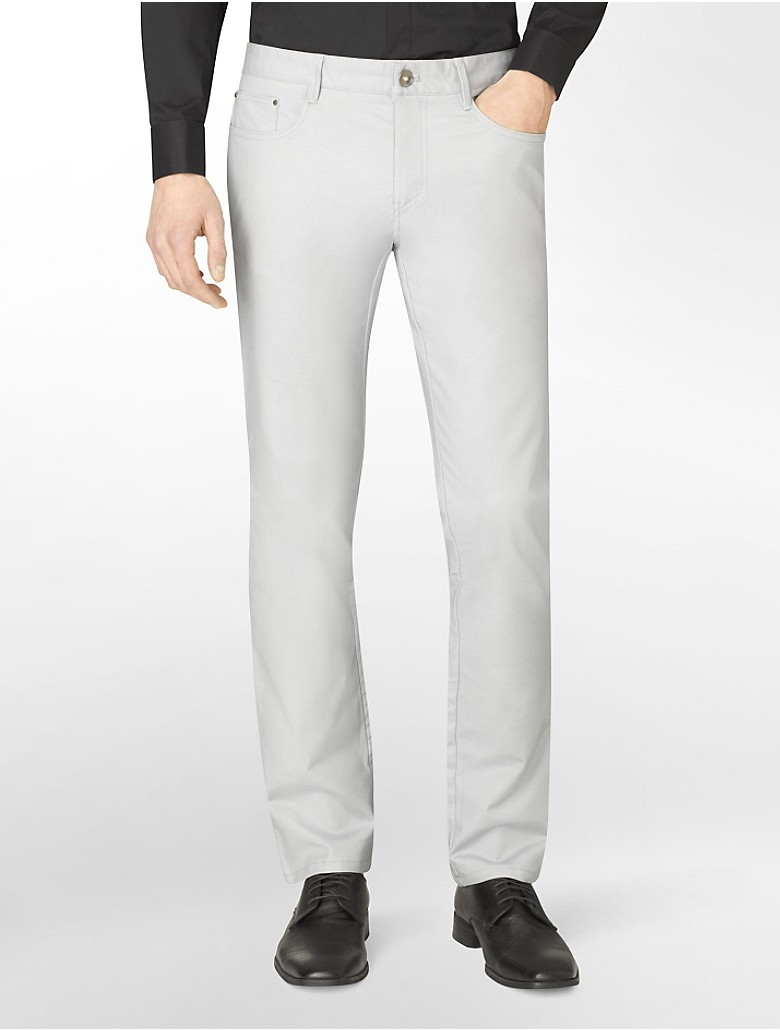 Calvin klein ultra slim fit stretch pants ebay for Calvin klein slim fit stretch shirt