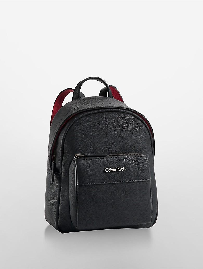 calvin klein womens hailey city backpack ebay. Black Bedroom Furniture Sets. Home Design Ideas