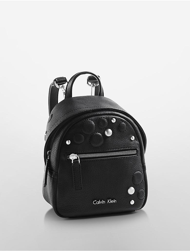 calvin klein womens kira studio backpack ebay. Black Bedroom Furniture Sets. Home Design Ideas