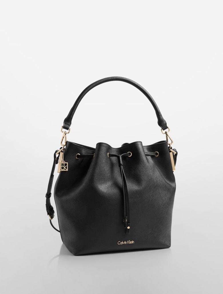 Unique Calvin Klein Womens Kora Chain Shoulder Bag Berry  EBay