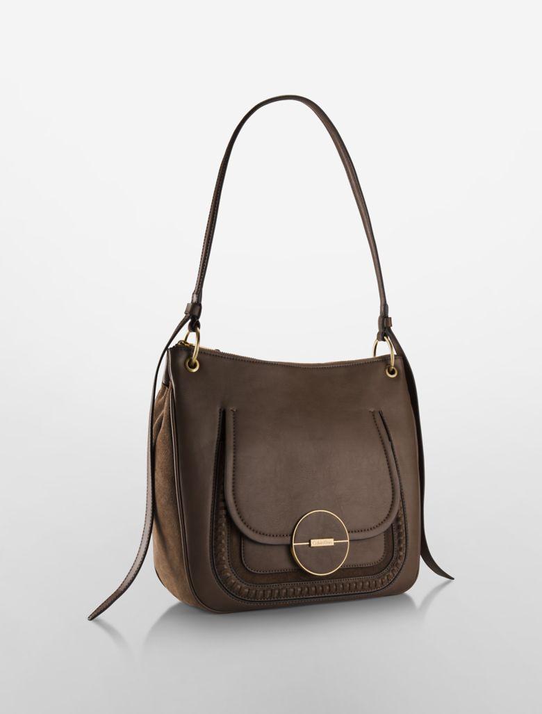 Perfect Calvin Klein Women39s Faye Pony Hobo Bag  Black