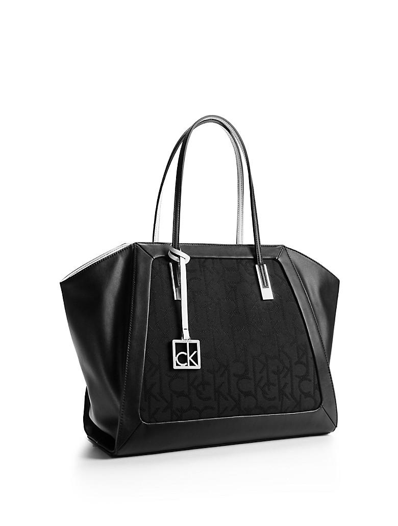 calvin klein womens eliza winged shopper tote ebay