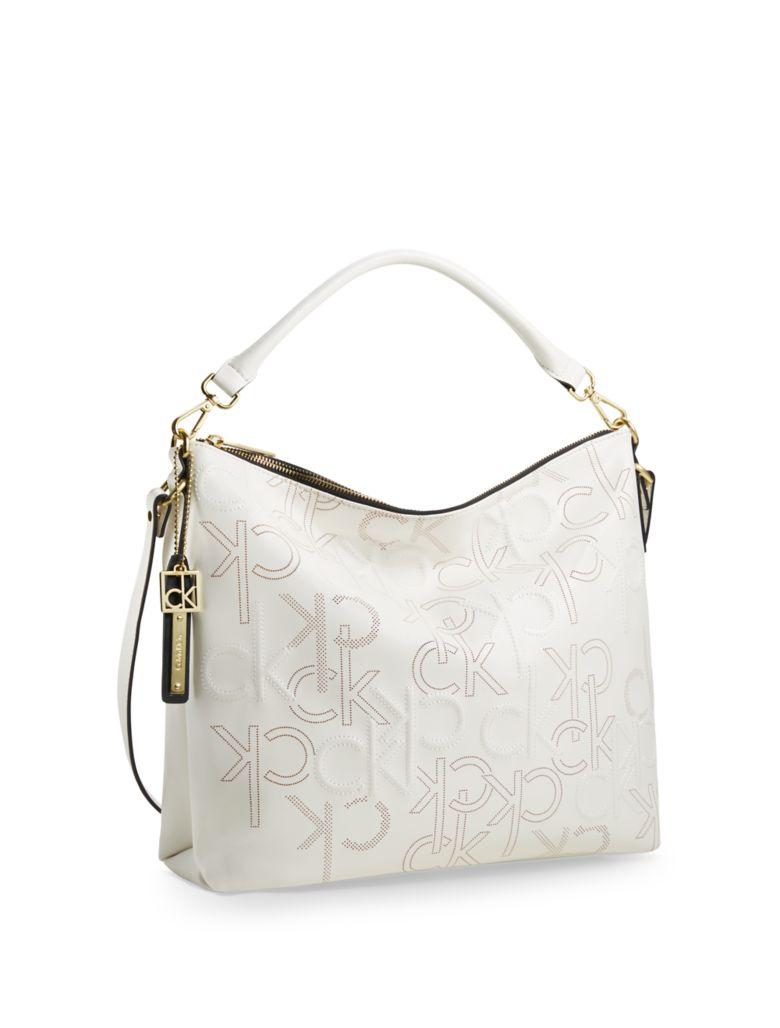 Elegant Calvin Klein Women39s Sofie Large Saffiano Leather Tote Bag  Beach