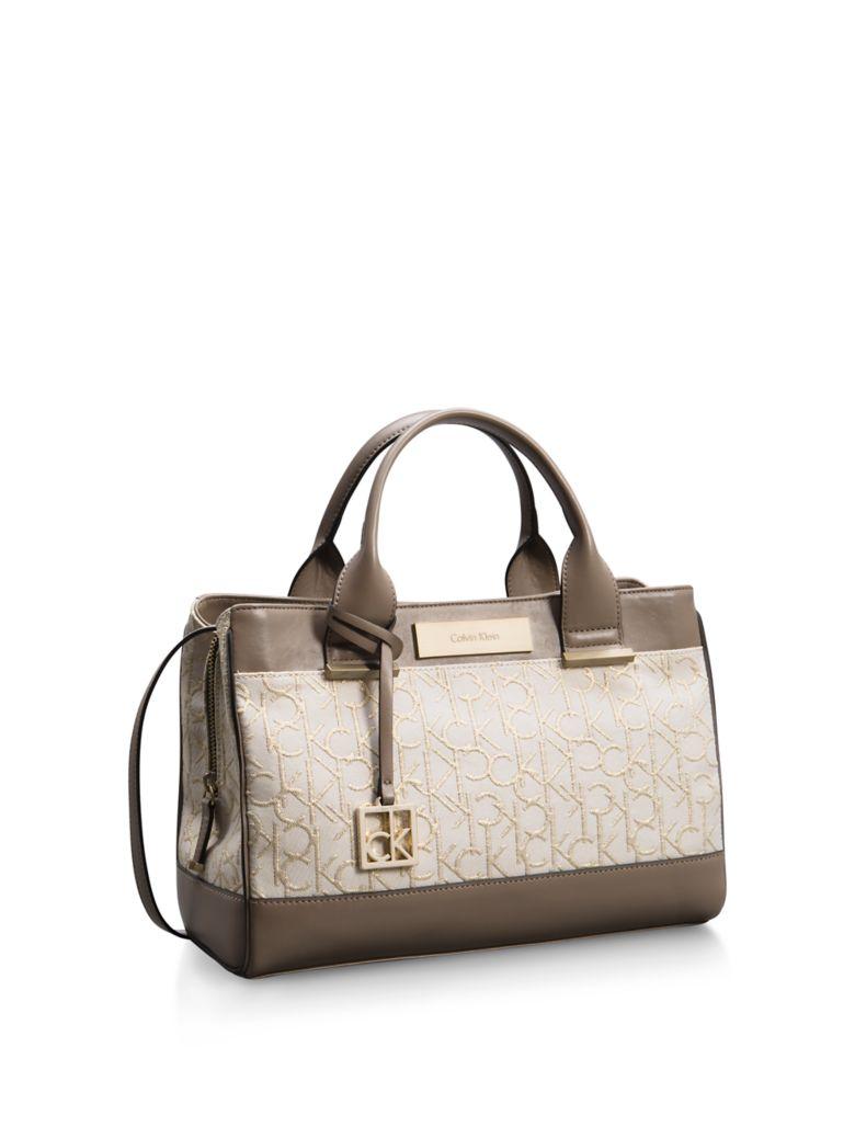 Unique Calvin Klein Womens Kira Drawstring Bucket Bag  EBay