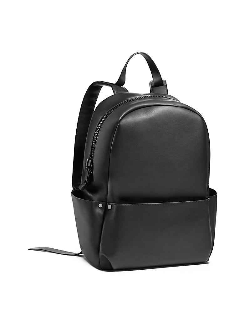 calvin klein mens soft calf utility backpack black ebay. Black Bedroom Furniture Sets. Home Design Ideas