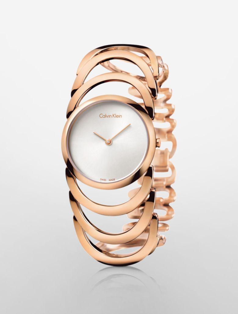calvin klein womens gold bracelet