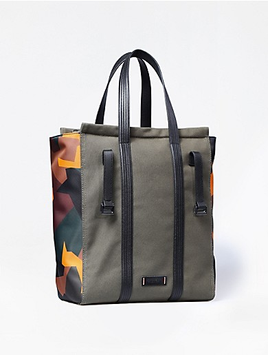 sport canvas north/south tote