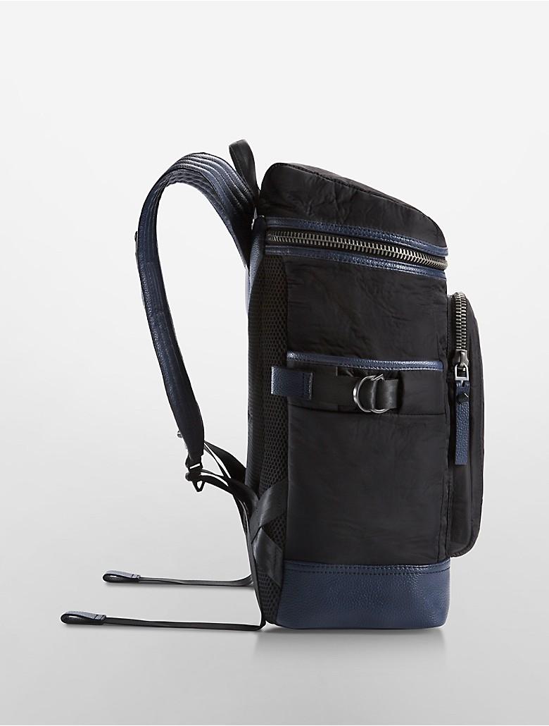 calvin klein transit flap backpack ebay. Black Bedroom Furniture Sets. Home Design Ideas
