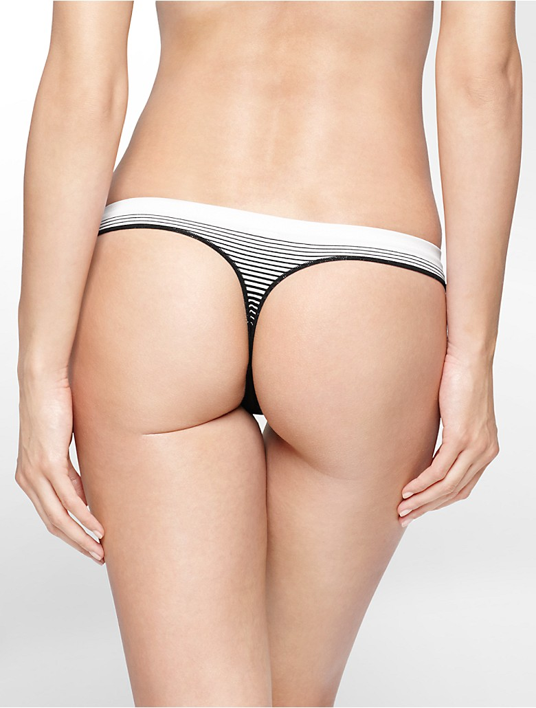 CALVIN KLEIN TEXT STRIPE UNDERWEAR