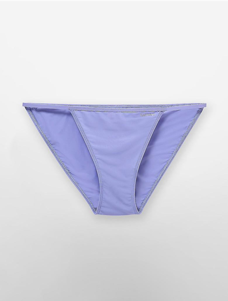 calvin klein womens sleek string bikini underwear ebay. Black Bedroom Furniture Sets. Home Design Ideas