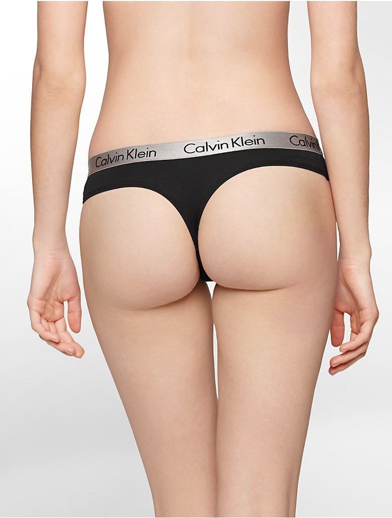 A cotton thong is an undergarment that becomes especially necessary during the summertime when the temperatures are hot and the summer dresses come out to play. Whether for work, casual weekends, or working out, a cotton thong makes you feel like you aren't wearing anything by preventing visible panty lines and creating a smooth and seamless.