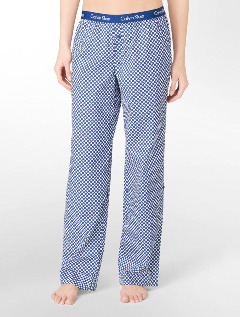 Fantastic Calvin Klein Modern Pajama Pants In Black  Lyst