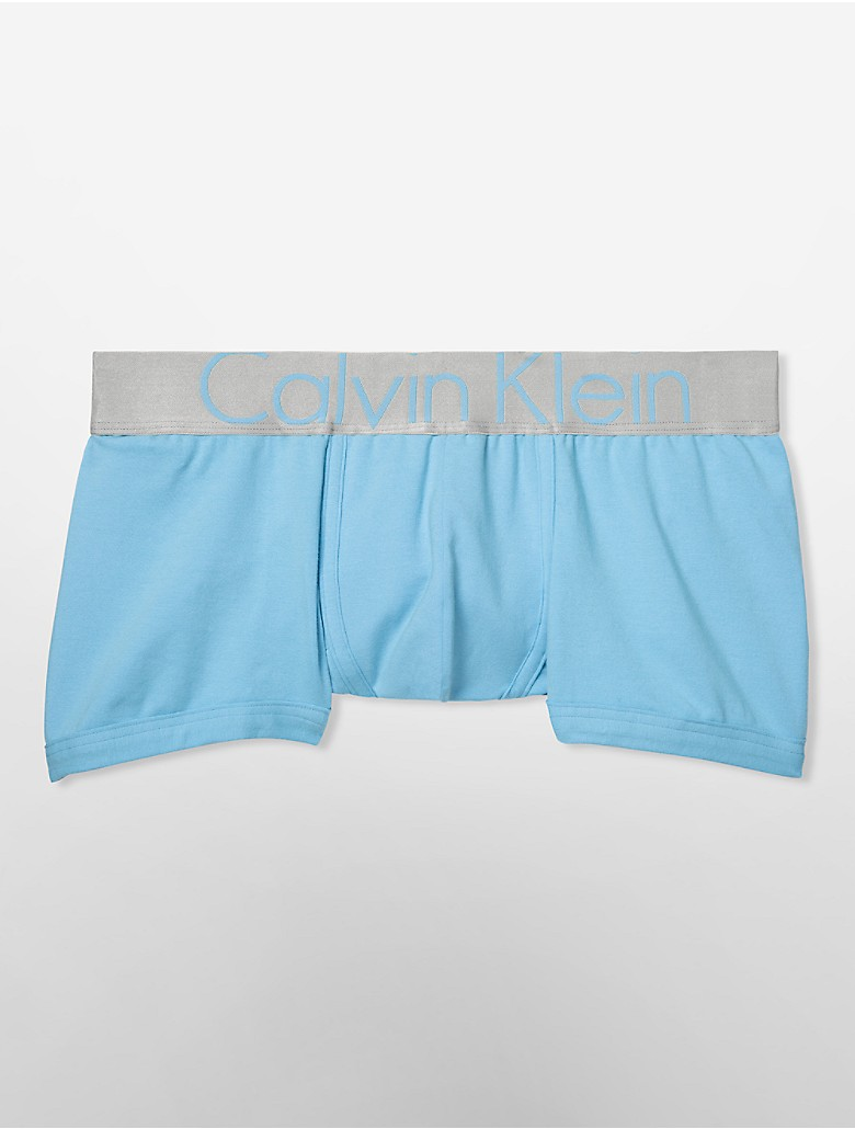 calvin klein mens steel cotton low rise trunk underwear ebay. Black Bedroom Furniture Sets. Home Design Ideas
