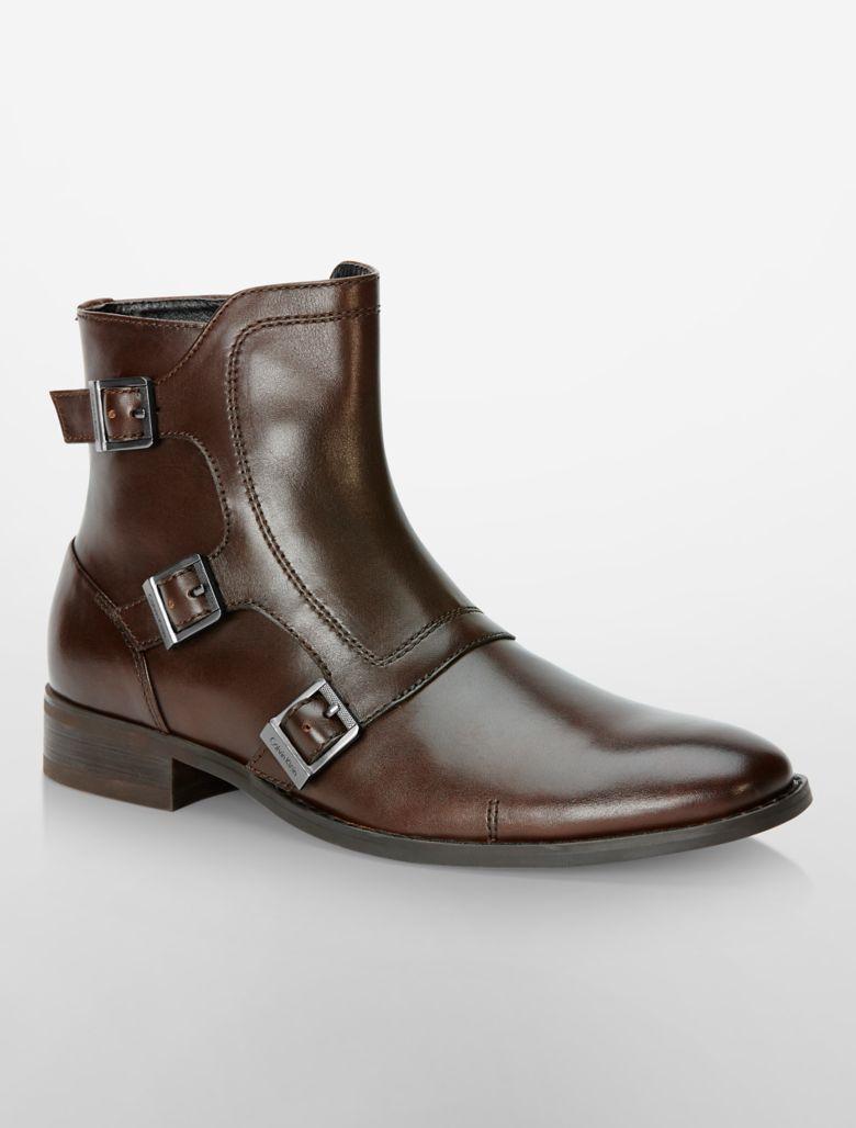 calvin klein mens stark monk boot shoe ebay