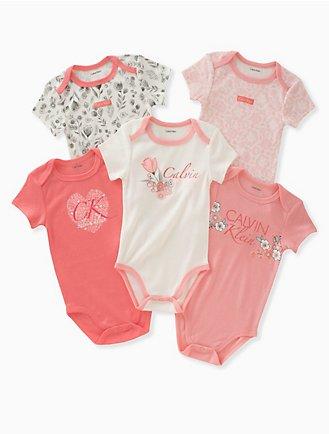 Baby Girl Clothes Months Calvin Klein - Baby girls clothes