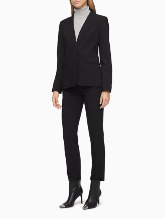 black pant suit for women suit la