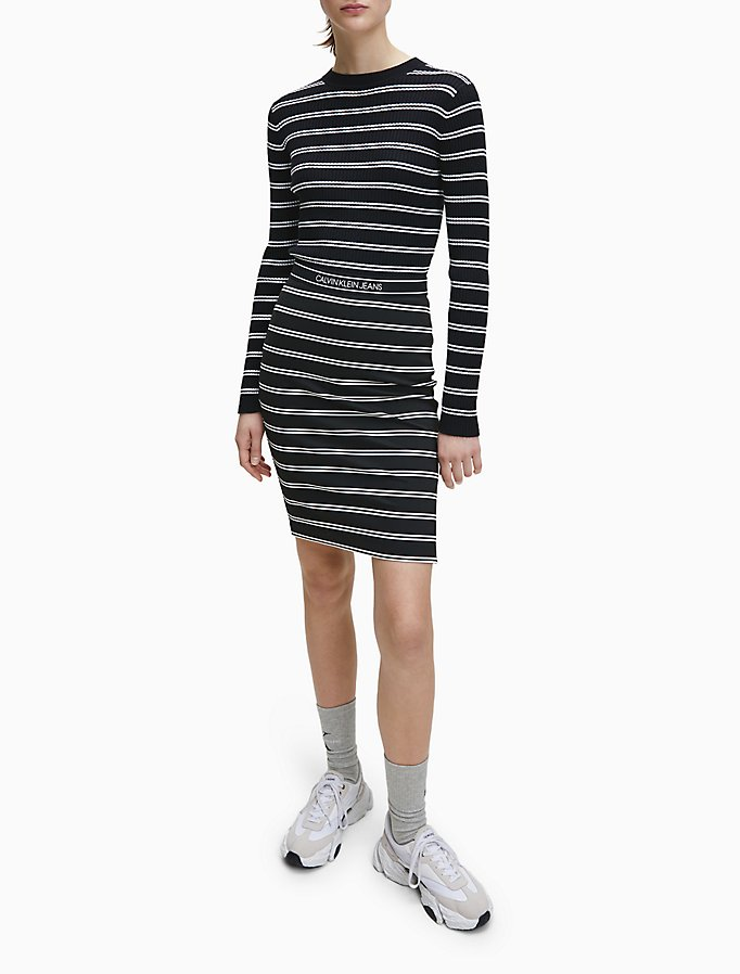 Calvin Klein: Logo Band Stripe Pencil Skirt $22.10 (SAVE 68%)