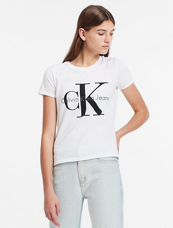 a49cb930eac8 vintage logo short sleeve top   Calvin Klein