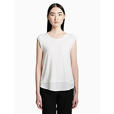 Cap Sleeve Pocket T-Shirt