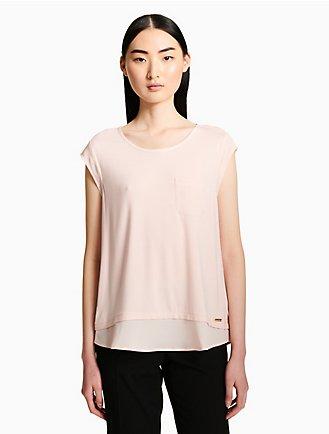 e72c72dc83689 Women's Shirts & Tank Tops | Calvin Klein