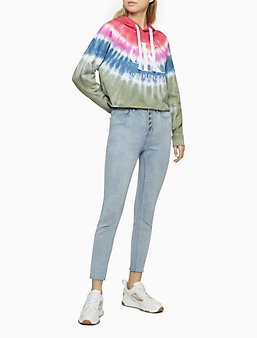 Red Ta Women Winter Long Sleeve Knee-Length Plaid Print Zipper Hoodie Sweatshirt with Pocket