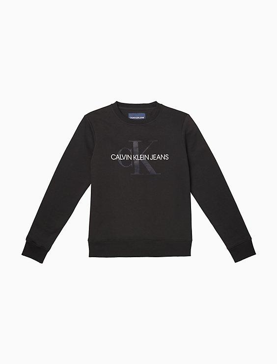 176e58f2 monogram logo crewneck sweatshirt | Calvin Klein