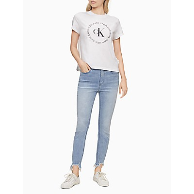 Circle Logo Crewneck T-Shirt