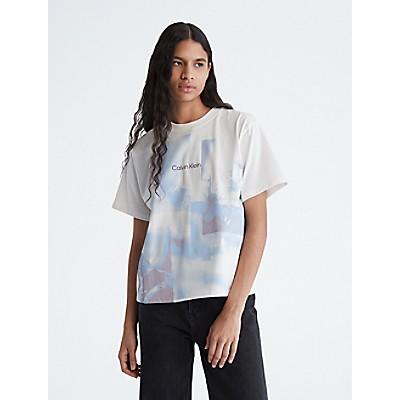 Circle Logo Crewneck T-Shirt | Calvin KleinCalvin KleinCloseCalvin KleinShow Password