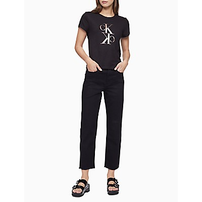 Mirror Monogram Logo Baby T-Shirt | Calvin KleinCalvin KleinCloseCalvin KleinShow Password